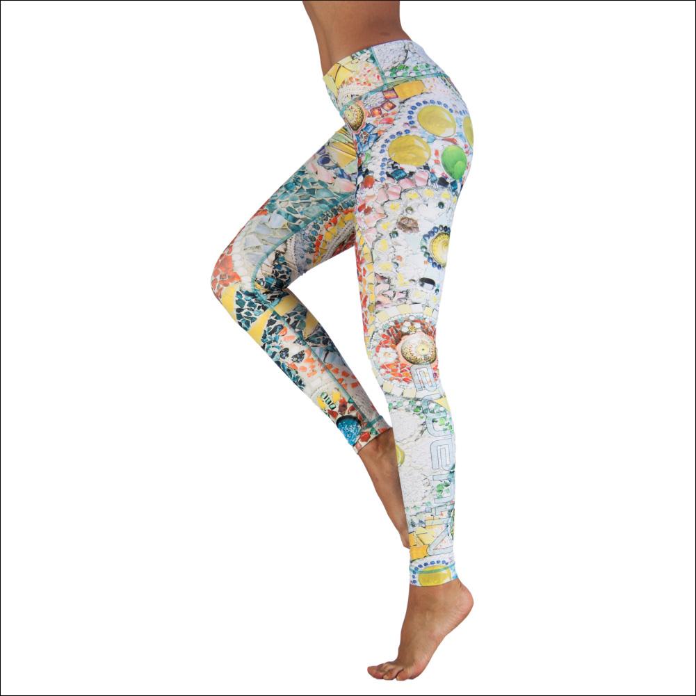 Niyama Yoga Pants Mosaic
