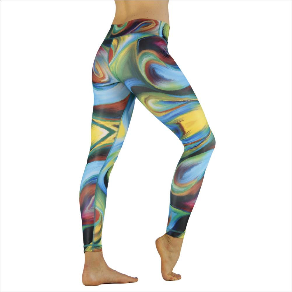 Niyama Yoga Pants Acrylic Storm