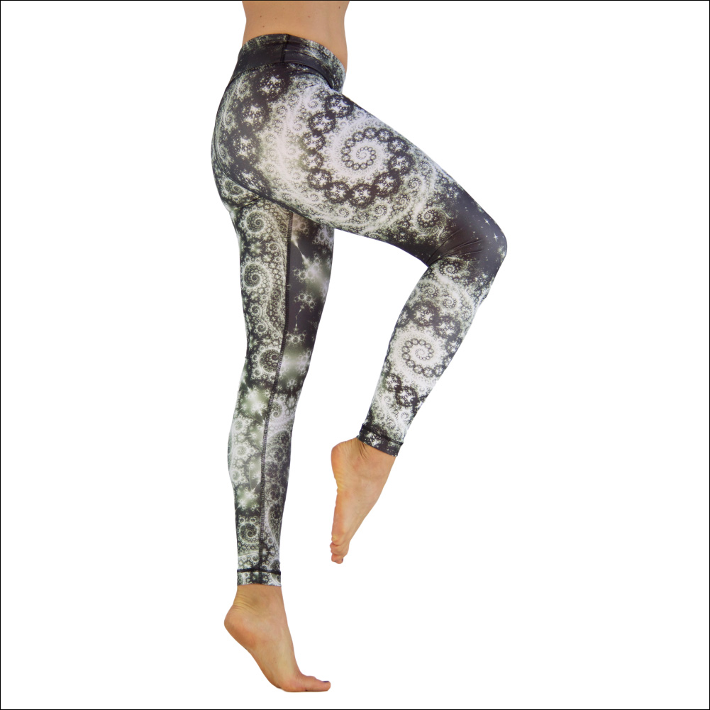 Niyama Yoga Pants Milky Wave