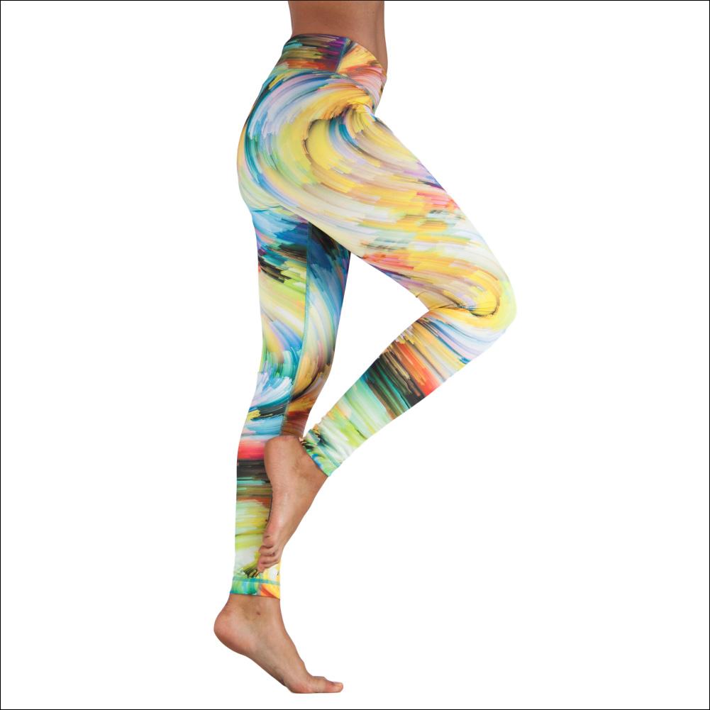 Niyama Yoga Pants Rainbow Galaxy