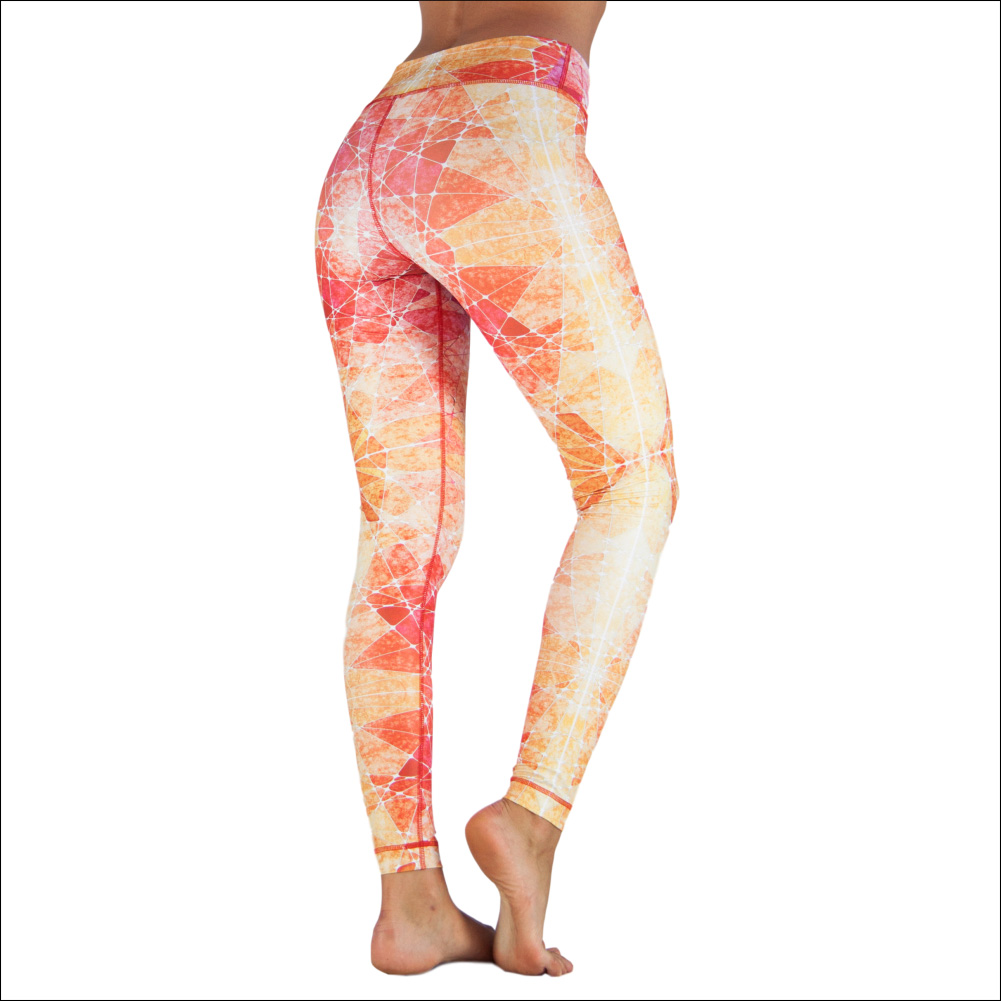 Niyama Yoga Pants Sunset