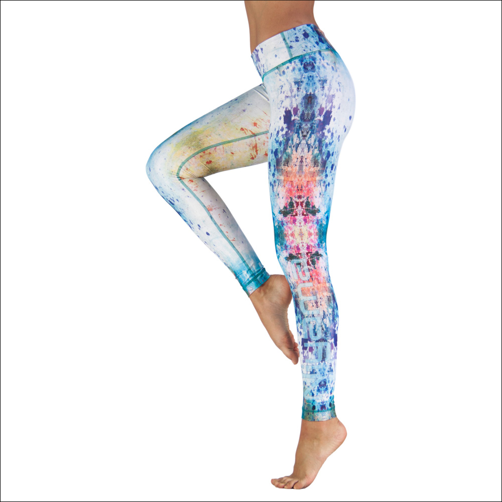Niyama Yoga Pants Crazy Drop