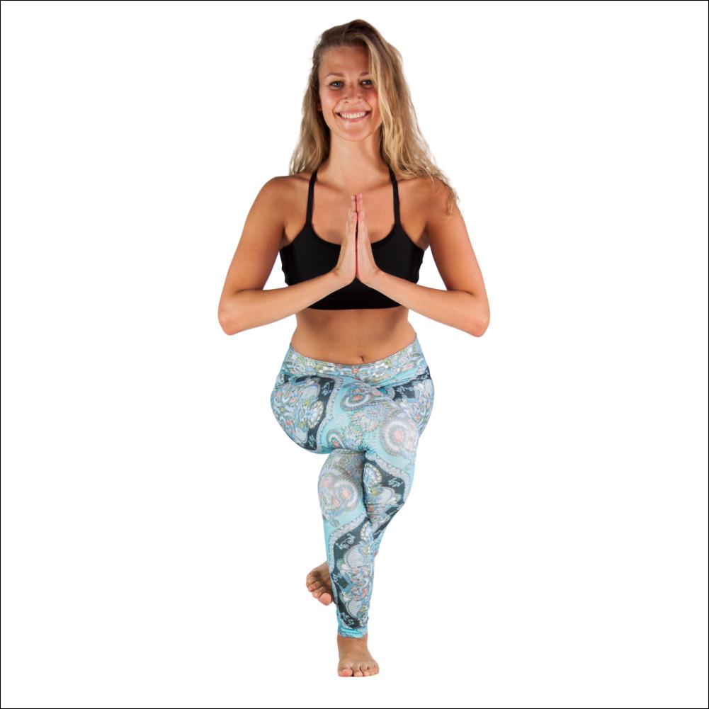 Niyama Yoga Pants Piece of Art