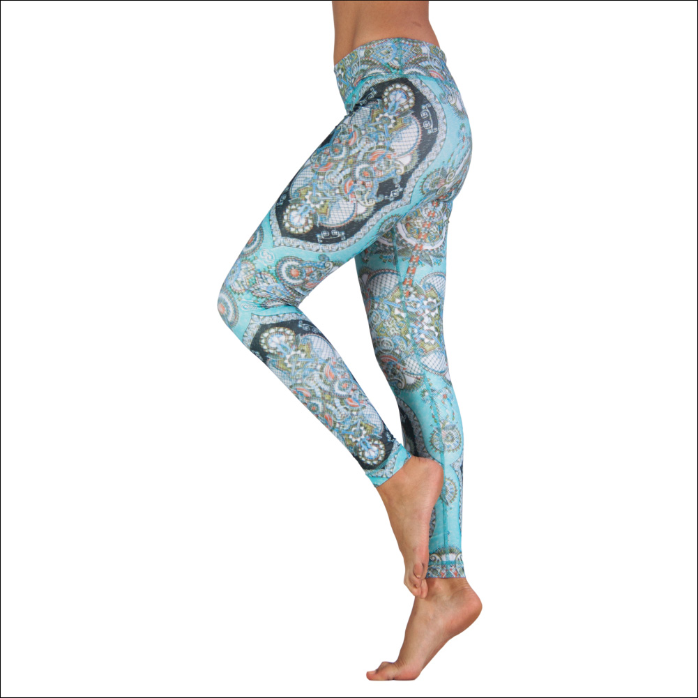 Niyama Yoga Pants Piece of Art