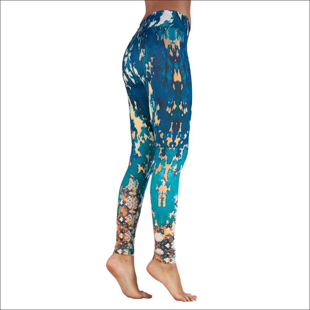 Niyama Yoga Pants Sapphire Dream