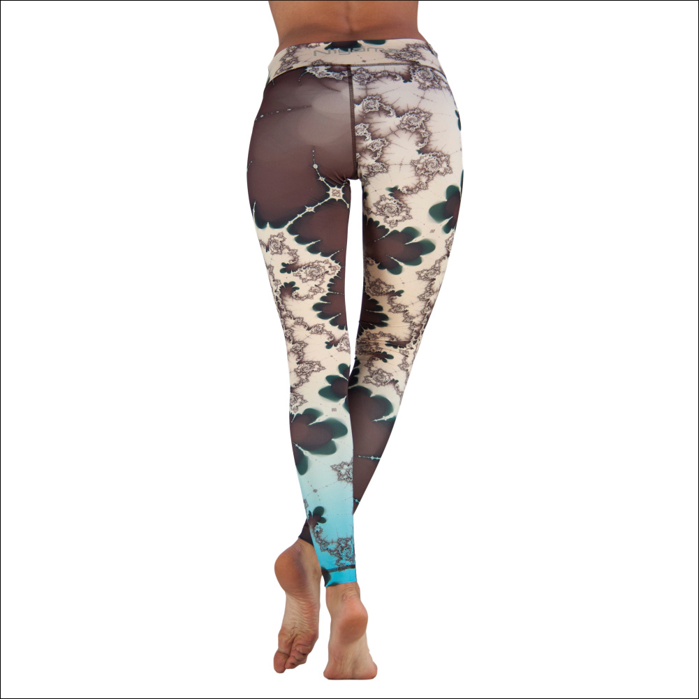 Niyama Yoga Pants Emerald Spring