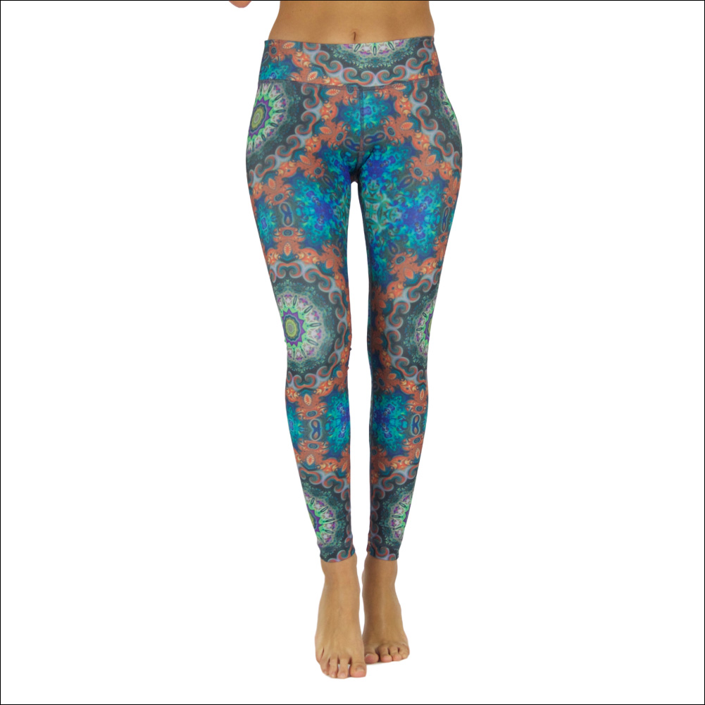Niyama Yoga Pants Flower Power