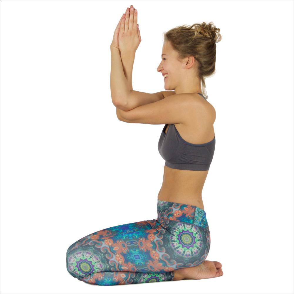 Niyama Yoga Pants Flower Power