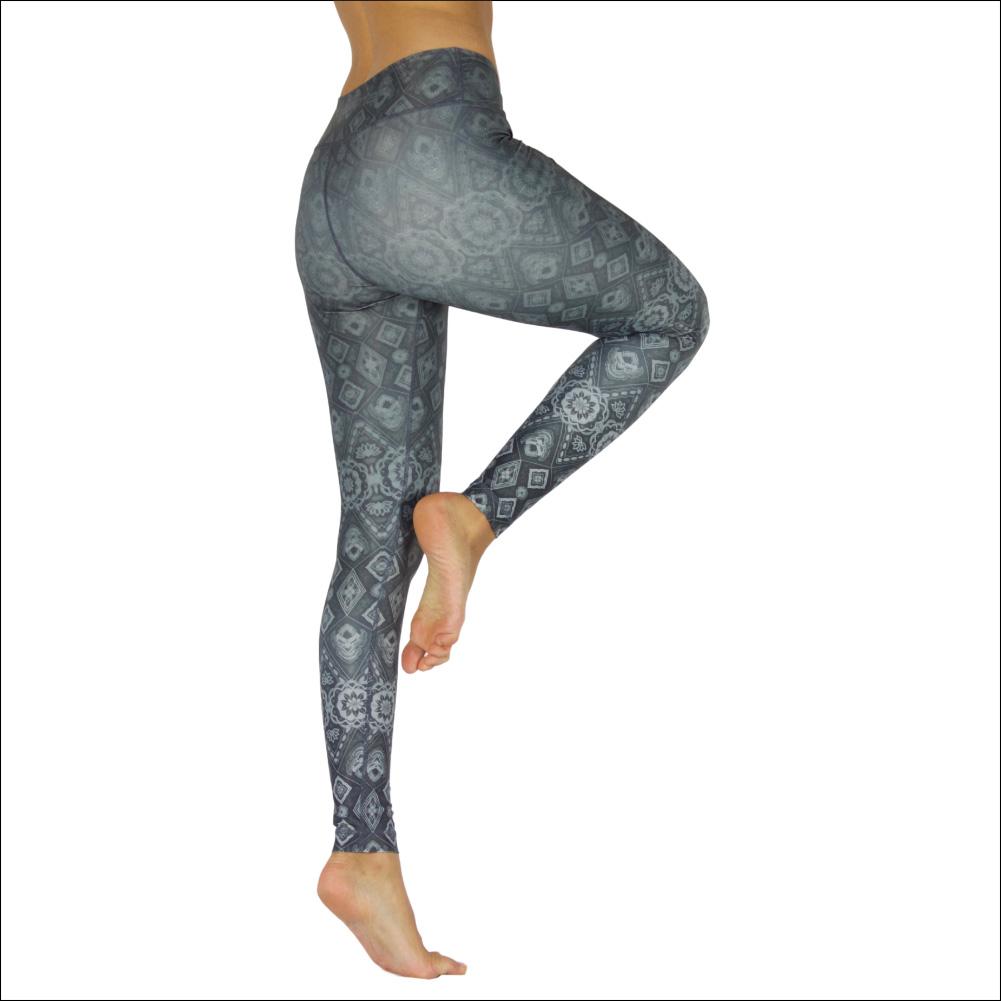 Niyama Yoga Pants Diamonds - Italian fabric and made in Europe